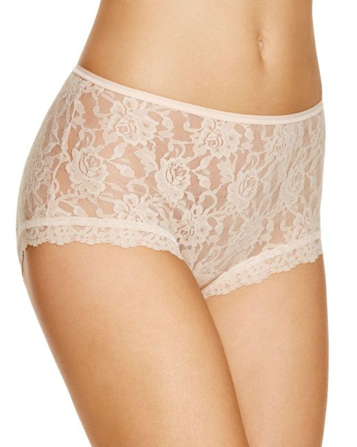 Hanky Panky - Natural Signature Lace Betty Briefs - Lyst