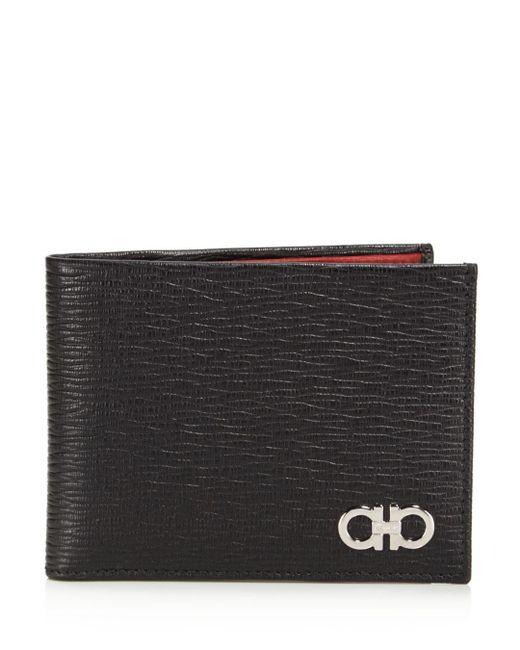 Ferragamo Black Revival Wallet for men