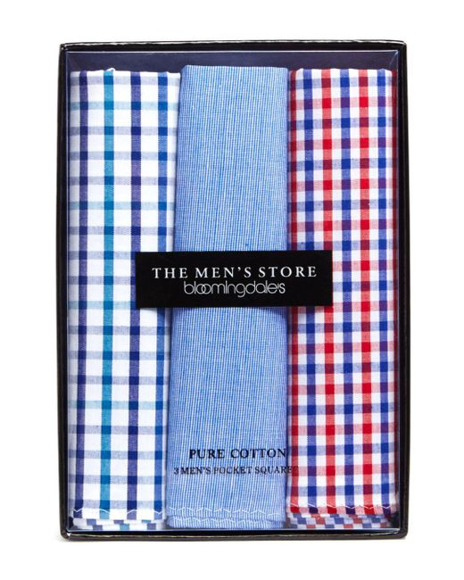 Bloomingdale's - Blue Pack Of 3 for Men - Lyst