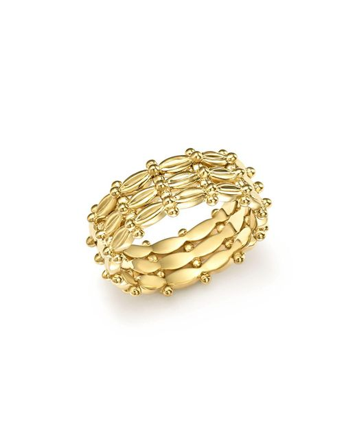 Temple St. Clair - Metallic 18k Yellow Gold Vigna Ring - Lyst