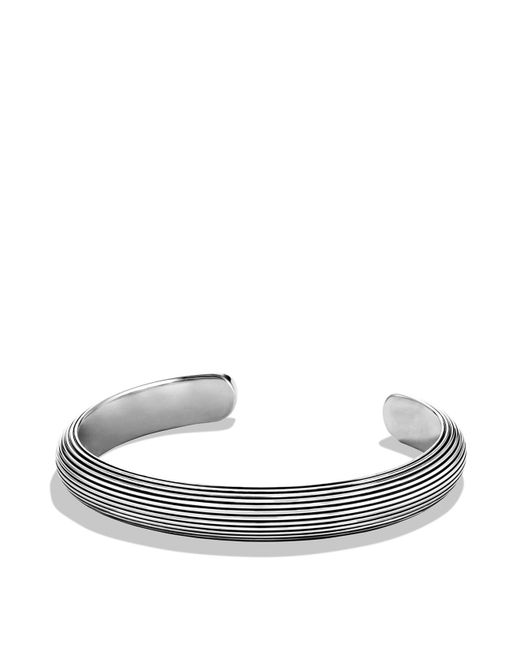 David Yurman | Metallic Royal Cord Wide Cuff for Men | Lyst