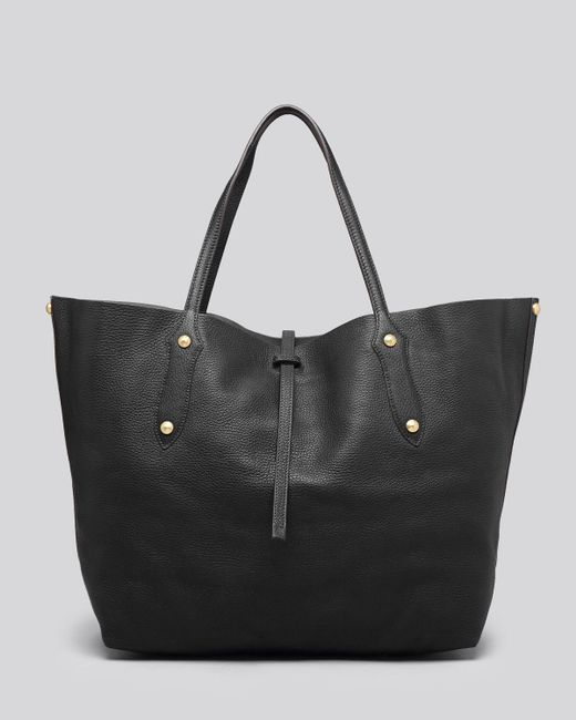 Annabel Ingall | Black Isabella Large Leather Tote | Lyst
