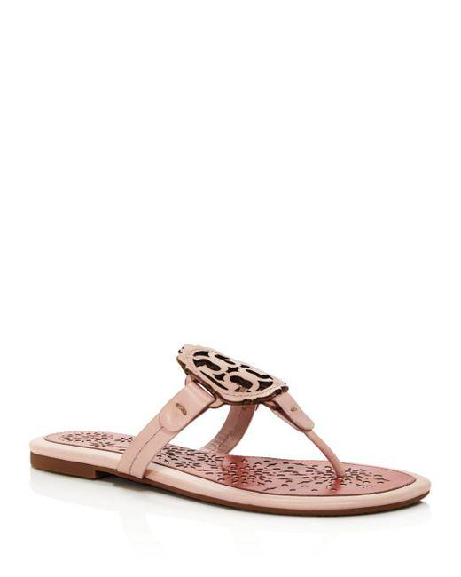 a8aeb0ffb428e8 Tory Burch - Pink Miller Scallop Sandal