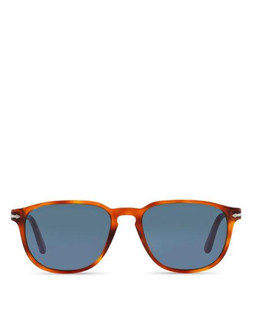 Persol Black Men's Galleria 900 Square Sunglasses for men