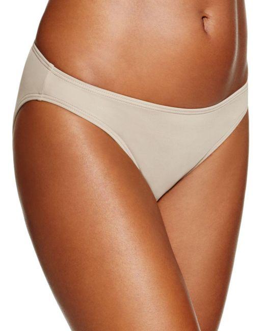 Vince Camuto - Natural Biscayne Bay Illusion Classic Bikini Bottom - Lyst