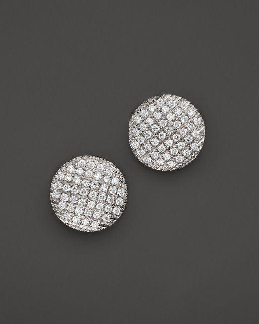Dana Rebecca | 14k White Gold Diamond Lauren Joy Large Earrings | Lyst