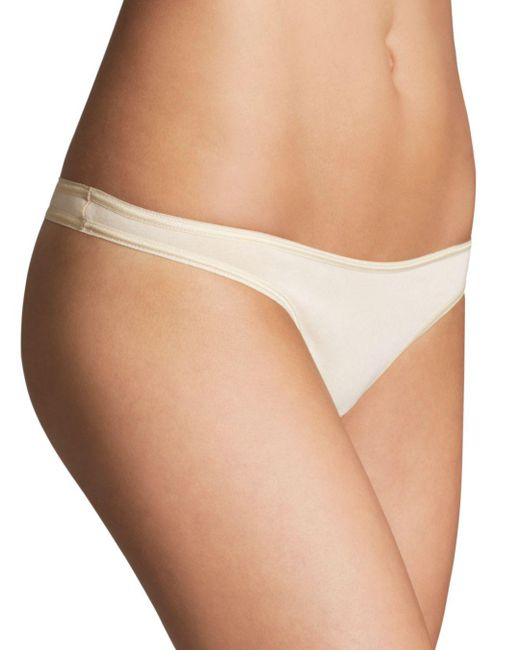 Cosabella - Natural Talco Low-rise Thong - Lyst