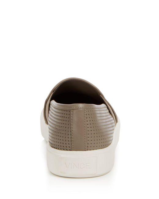 Flat Brown On Blair Slip Sneakers 5 Women's wmvN8n0
