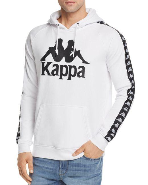 Kappa - White Hurtado Logo Hoodie for Men - Lyst