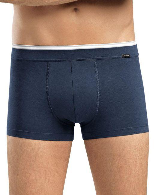 Hanro - Blue Liam Low Cut Boxer Briefs for Men - Lyst