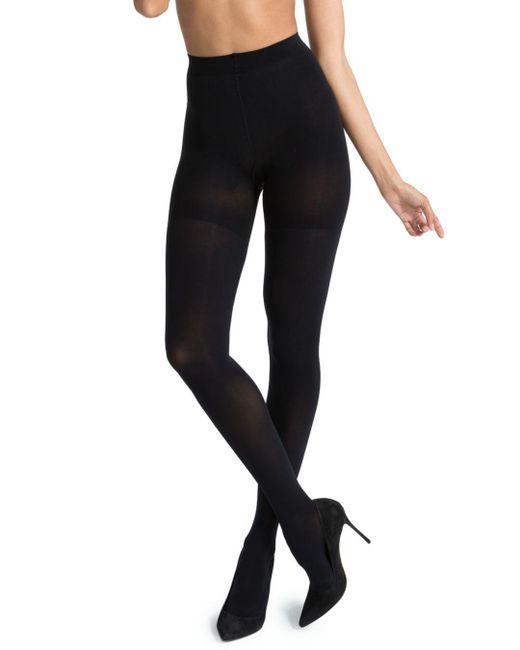 Spanx - Black Luxe Leg Tights - Lyst