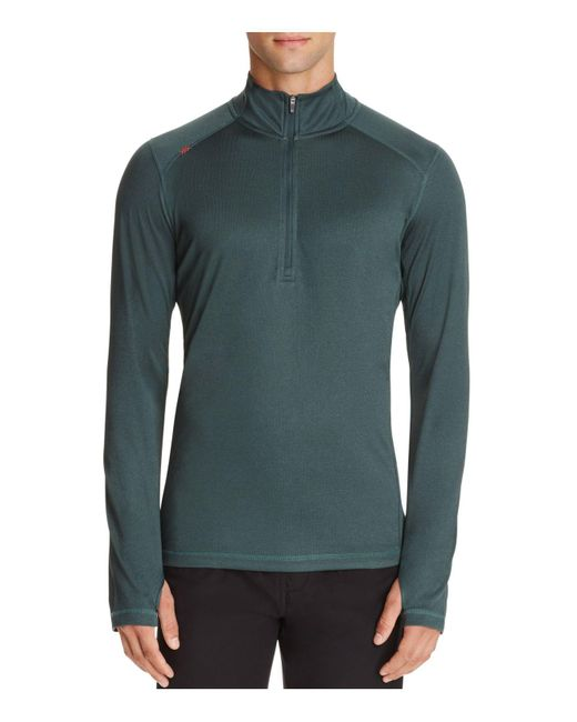 Rhone | Green Sequoia Half-zip Pullover Active Top for Men | Lyst