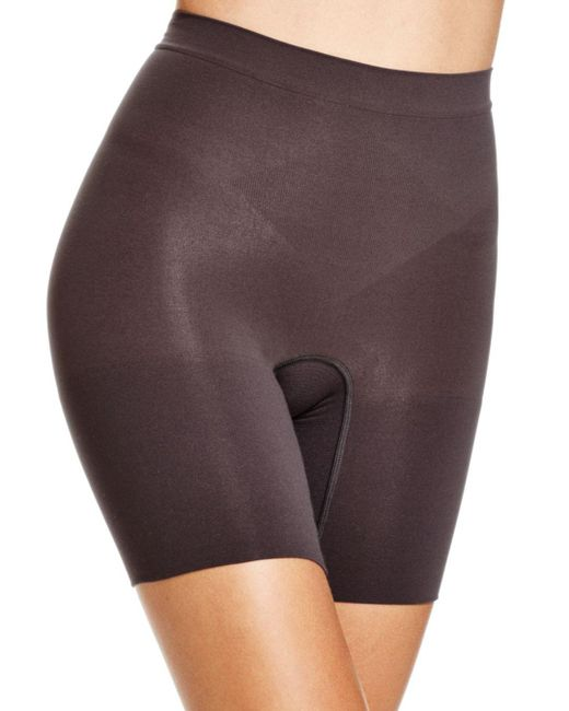 Spanx - Black Power Shorts - Lyst