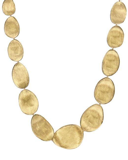 Marco Bicego Metallic 18k Yellow Gold Lunaria Collar Necklace