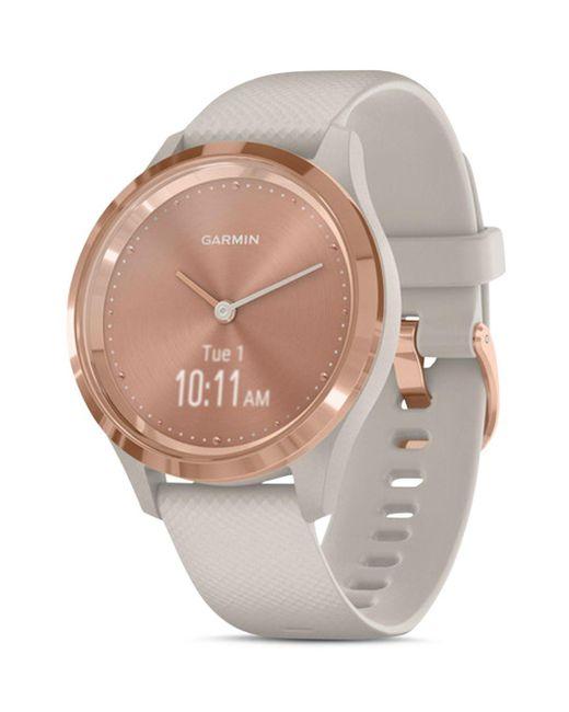 Garmin Multicolor Vivomove 3s Rose Gold - Tone Dial Smartwatch