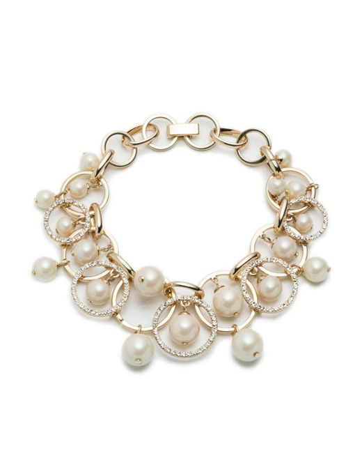 Carolee | Metallic Shaky Links Bracelet | Lyst