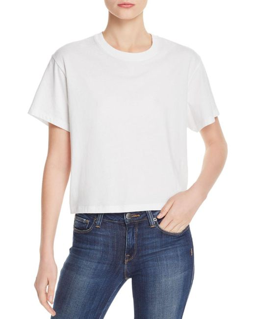 ATM White Classic Jersey Tee