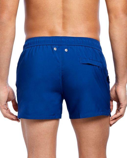 2xist Men's Blue 2(x)ist Essential Ibiza Rainbow - Print Swim Shorts