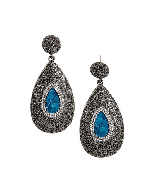 BaubleBar | Blue Demetria Drop Earrings | Lyst