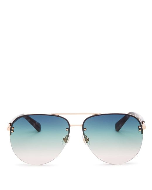 Kate Spade - Blue 62mm - Lyst