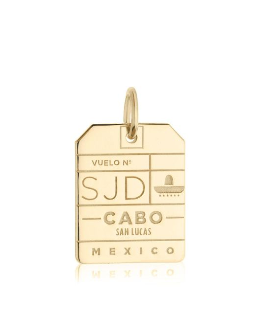 Jet Set Candy | Metallic Sjd Los Cabos Luggage Tag Charm for Men | Lyst