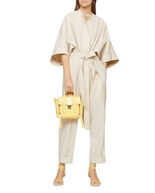 3.1 Phillip Lim Natural Kimono Sleeve Jumpsuit