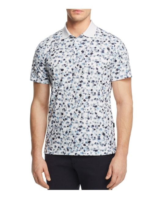 AG Green Label | White Parkway Performance Regular Fit Polo Shirt for Men | Lyst