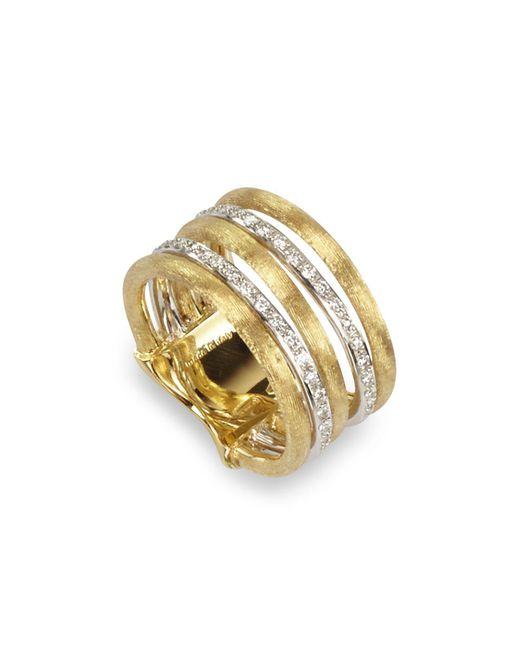 Marco Bicego | Metallic Diamond Jaipur Link 5-strand Band Ring | Lyst