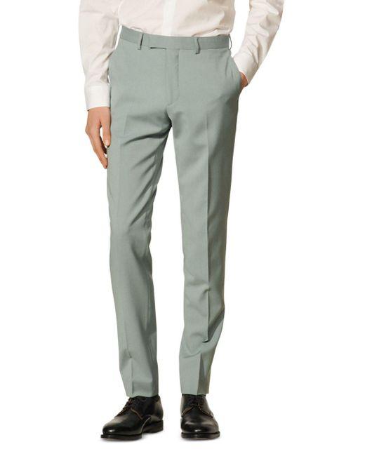 Sandro Multicolor Formal Storm Wool Suit Pants for men