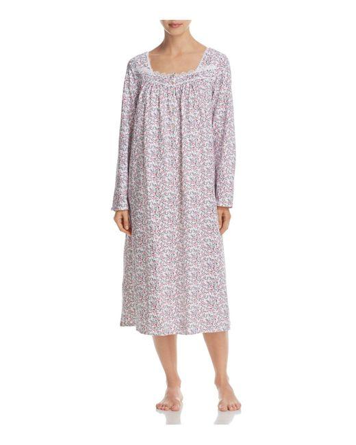 Eileen West - Purple Long Sleeve Ballet Nightgown - Lyst