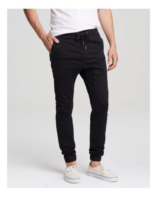 Zanerobe - Black Sureshot Jogger Pants for Men - Lyst