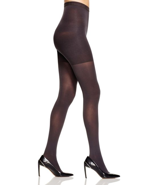 Spanx - Black High-waisted Luxe Leg Tights - Lyst