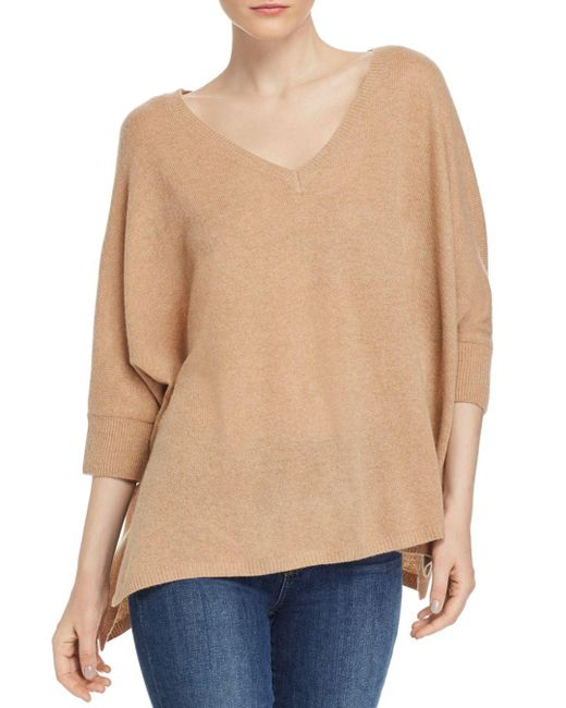 Minnie Rose Natural Boyfriend Cashmere Sweater