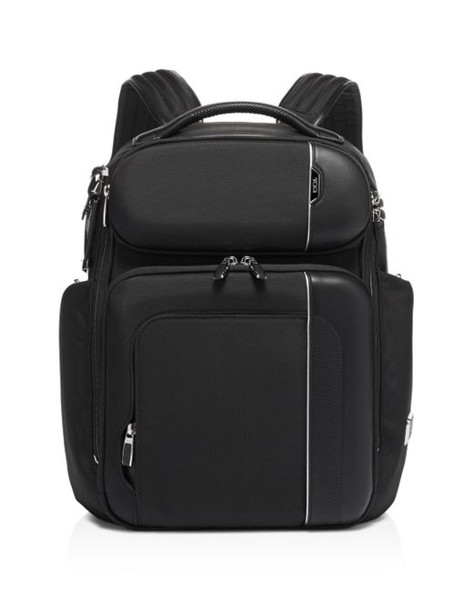 Tumi Black Arrivé Barker Backpack for men