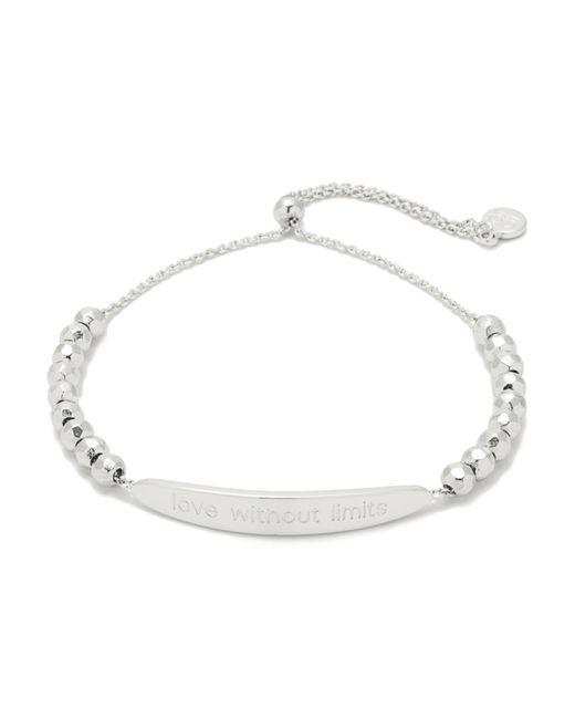 Gorjana | Metallic Love Bracelet | Lyst