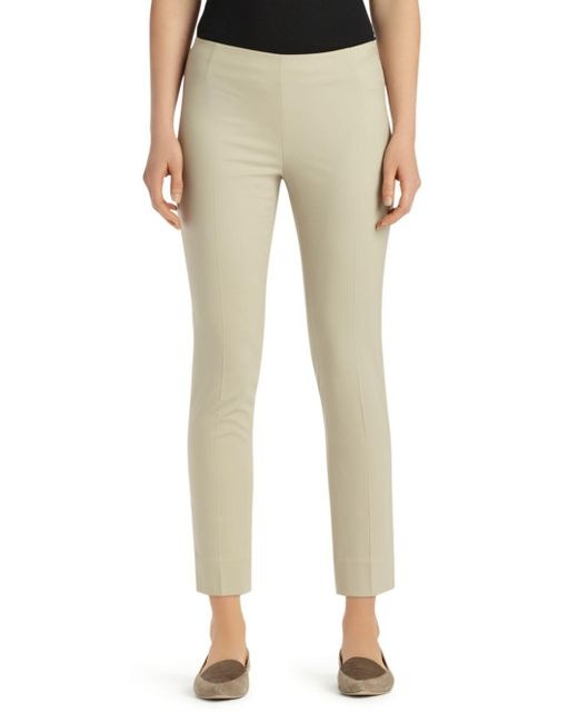 Lafayette 148 New York - Natural Stanton Ankle Pants - Lyst