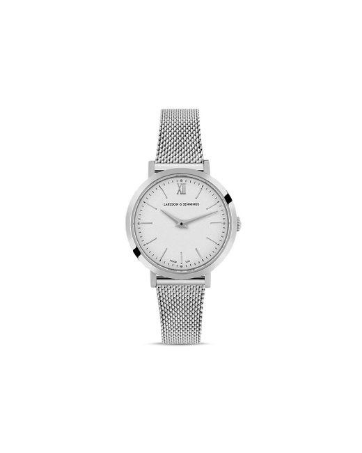 Larsson & Jennings Metallic Ljxii Mesh Bracelet Watch