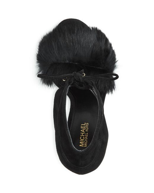 627d2232f57 Michael Kors Rabbit Fur Sneakers