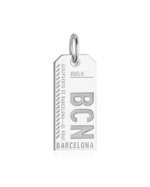 Jet Set Candy | Metallic Spain Bcn Luggage Tag Charm for Men | Lyst