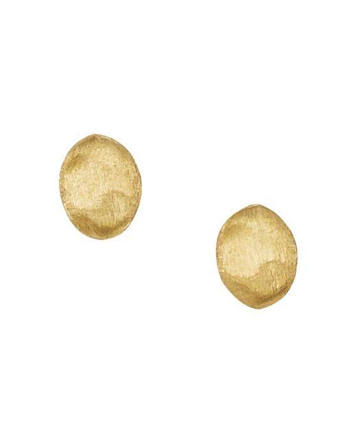 "Marco Bicego Metallic ""siviglia Collection"" Gold Stud Earrings"