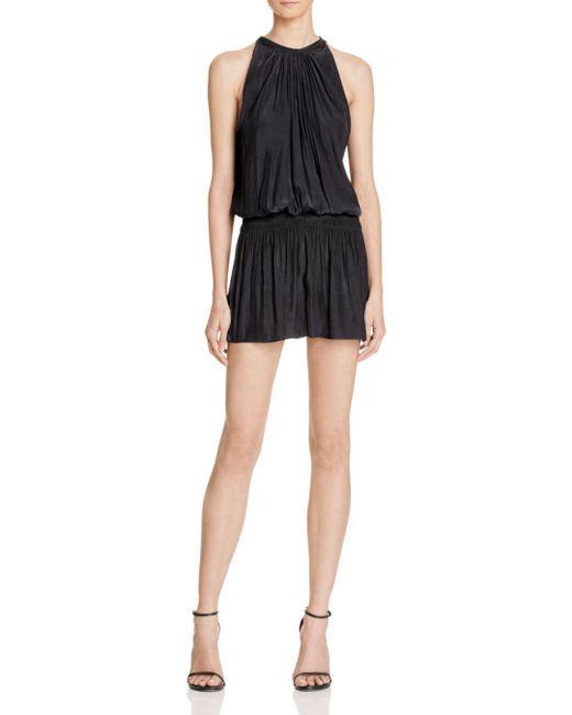 Ramy Brook - Black Paris Sleeveless Dress - Lyst