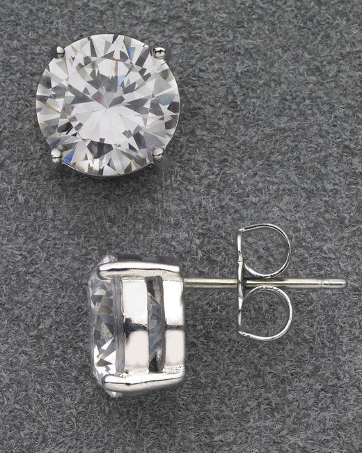 Nadri Metallic Large Stud Earrings