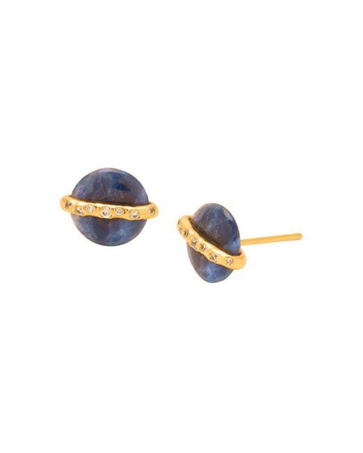 Gorjana - Multicolor Brinn Shimmer Stud Earrings - Lyst