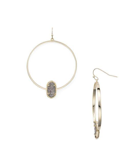 Kendra Scott | Metallic Elora Drop Earrings | Lyst