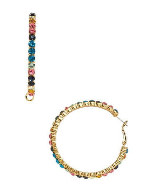 BaubleBar - Georgina Multicolor Hoop Earrings - Lyst
