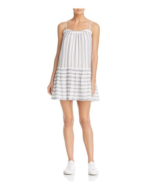 Soft Joie | Blue Ante Stripe Dress | Lyst