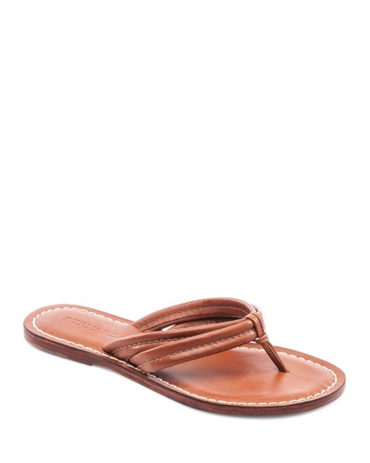 Bernardo - Multicolor Miami Two Strap Thong Sandals - Lyst