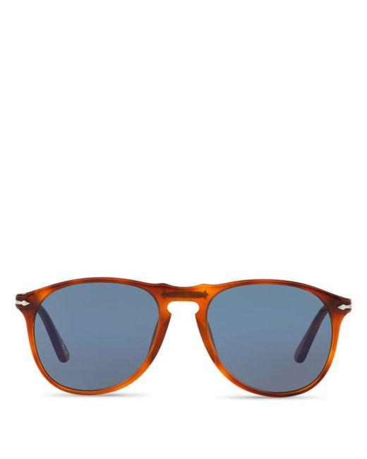 e9f2168bba Persol - Brown Men s Icons Collection Evolution Pilot Square Sunglasses for  Men - Lyst ...