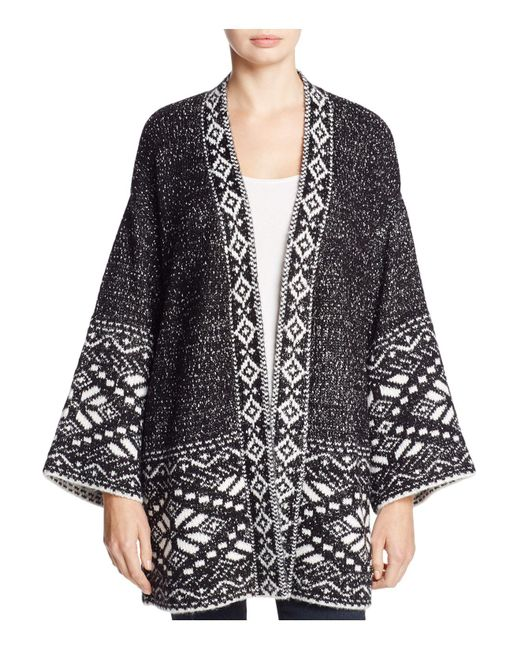 Cupcakes And Cashmere - Black Sola Bell Sleeve Cardigan - Lyst