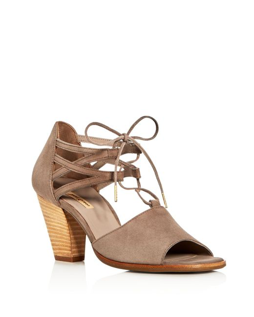 Paul Green | Brown Marsha Ankle Tie High Heel Sandals | Lyst